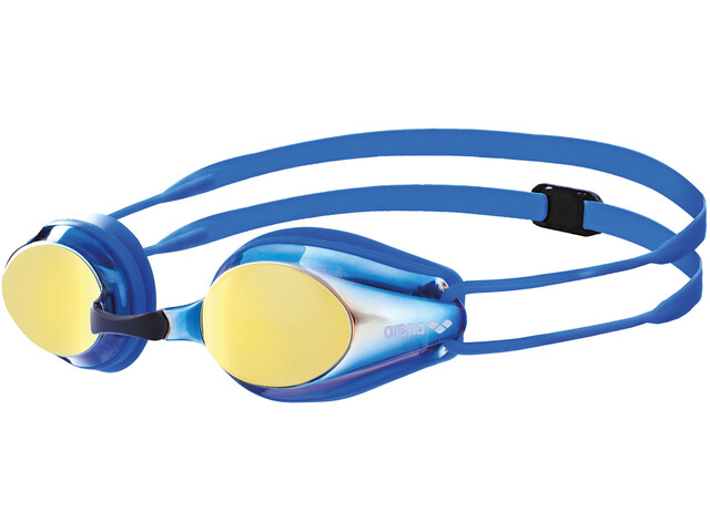 arena Tracks Jr Mirror Goggles Kinder blueyellowrevo-blue-blue